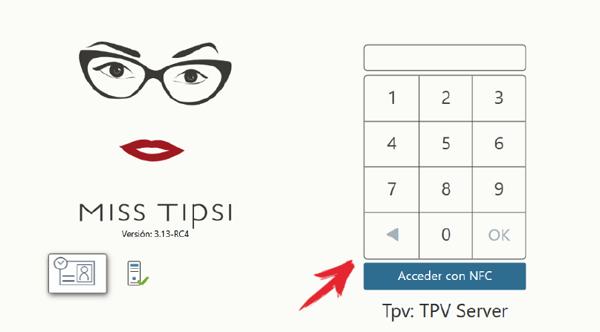 Acceso al TPV 2